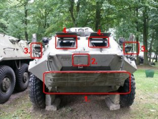BTR-60PB véhicule blindé transport de troupe description fiche technique spécifications identification renseignements photos images armée Russe Russie wheeled armoured vehicle armored personnel carrier Description pictures galleryRussian Army Russia.