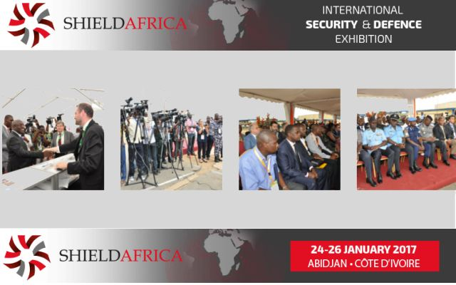 ShieldAfrica 2017 Web TV Television pictures photos images video International Security and Defence Exhibition Abidjan Côte d'Ivoire 23  to 26 September 2017