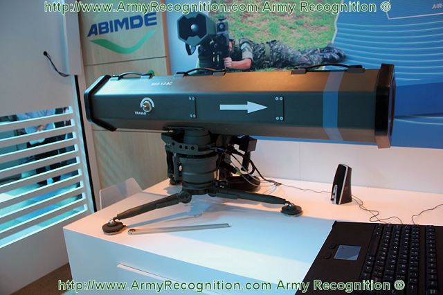 Brazilian Company Mectron wants to conquer the market of anti-tank missile on Africa with its MSS1.2 portable medium-range antitank weapon system. Mectron MSS-1.2 is an antitank missile system with laser guidance used for close and medium range fighting. It is the standard personal missile launch system of the Brazilian army and marine corps.