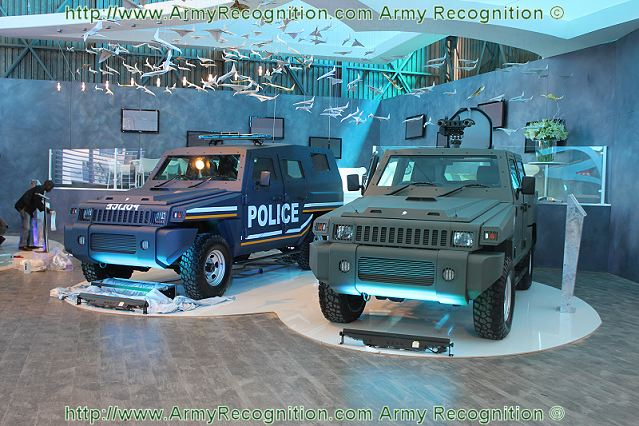 The South African Company Parmount Group unveils to the International press its new highly protected utility vehicle, the Marauder Patrol at AAD 2012 Africa Aerospace and defence exhibition which takes place from the 19 to 23 September 2012 in Pretoria, South Africa.