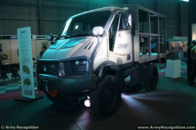 At AAD 2014, the Africa Aerospace and Defense Exhibition, the South African Defense Company DCD Protected Mobility has launched new Oribi medium sized utility truck (MUT). DCD Protected Mobility is a leader in the design, development and manufacture of special purpose tactile wheeled vehicles.