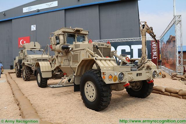 Husky 2G DCD landmine detection vehicle AAD 2016 defense exhibition South Africa 003