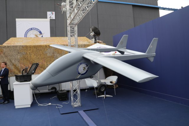 Paramount Group showcases its range of Unmanned Aerial Vehicles at AAD 2016 640 002