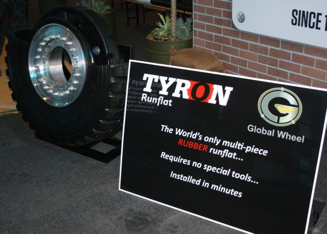 Tyron showcases its Runflat systems and Wheel Assemblies at AAD 2016 640 001