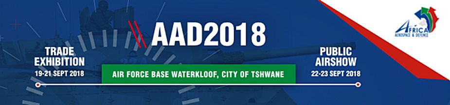 AAD 2018 Aerospace and Defence exhibition Pretoria Air Force Base Waterkloof Pretoria South Africa 925 001