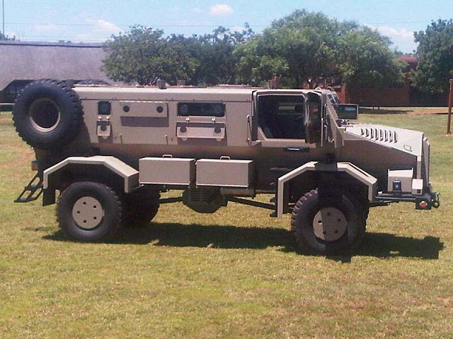 Casspir 2000 NG New Generation 4x4 mine protected vehicle South Africa African Denel defense industry 640 001