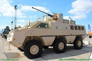 Mbombe 8x8 wheeled armoured infantry fighting vehicle Paramount Group Technical data sheet specifications intelligence pictures video