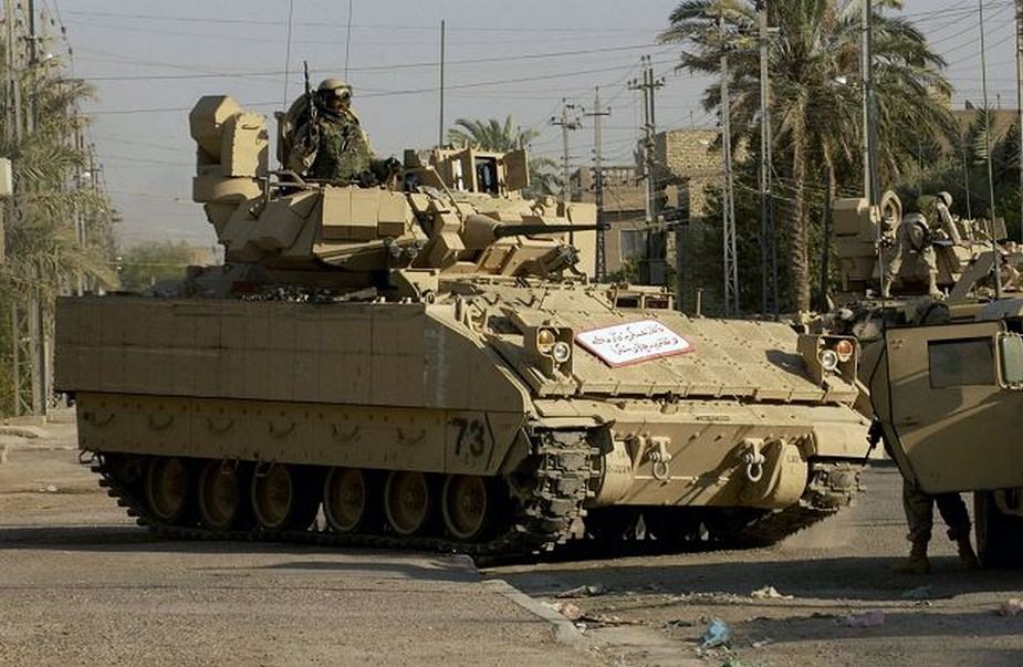 M2A5 Bradley Fighting Vehicle concept cancelled more powerful successor planned