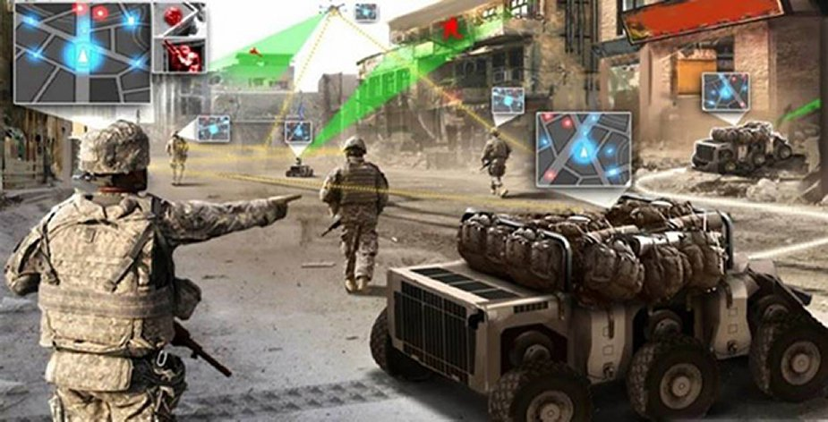Squad X Improves situational awareness coordination for dismounted units