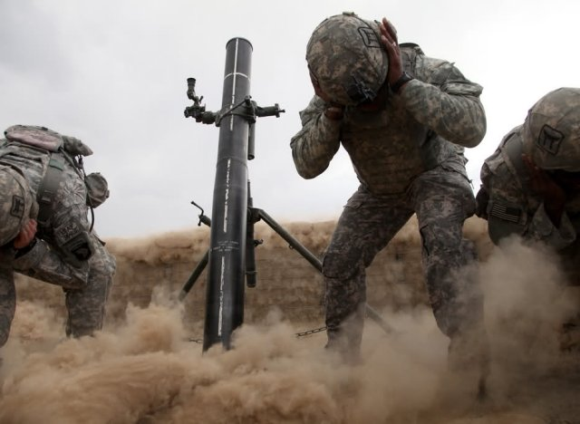 U S Army 120mm Mortar : Us army s benét laboratories unveiled new extended range