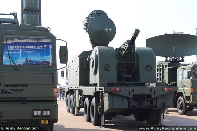 Chinese-made LD2000 (Land Shield 2000) Ground-Based Close-in Weapon System, which is developed from Type 730B 30mm shipboard seven-barrel cannon was displayed for the first time to the public by the Chinese Air Force at the China International Aviation & Aerospace Exhibition 2014 (AirShow China), which was held in Zhuhai (China) from the 11 to 16 November 2014.