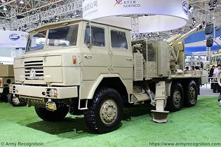 PCL 09 CS SH1 122mm wheeled 6x6 self propelled howitzer China Chinese army NORINCO defense industry left side view 001