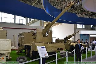 PCL 09 CS SH1 122mm wheeled 6x6 self propelled howitzer China Chinese army NORINCO defense industry rear view 001