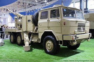 PCL 09 CS SH1 122mm wheeled 6x6 self propelled howitzer China Chinese army NORINCO defense industry right side view 001