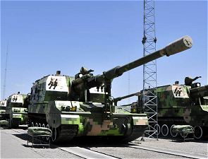 PLZ-05 PLZ05 155mm self-propelled howitzer technical data sheet specifications information description intelligence pictures photos images China Chinese army identification tracked armoured vehicle combat military