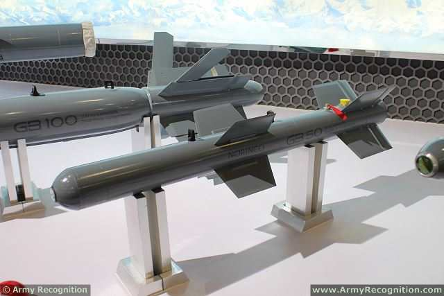 GB50 Aerial Guided Bomb at AirShow China 2014 in Zhuhai, China.