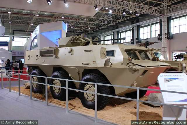 The Chinese Company Norinco unveils for the first time à AirShow China a new modernized version of the WMZ551 6x6 armoured personnel carrier. The VN2 6x6 armoured infantry fighting vehicle is the latest variant of the WMZ551.