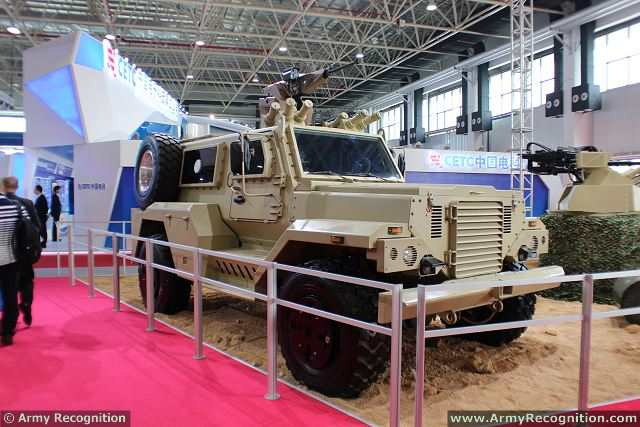 The company's V-shaped VP11 4x4 wheeled mine-resistant vehicle was ordered by the United Arab Emirates (UAE) earlier this year, which purchased over 150 VP11s, according to Xiao Ning, executive chief editor of Beijing-based Weapon Magazine.