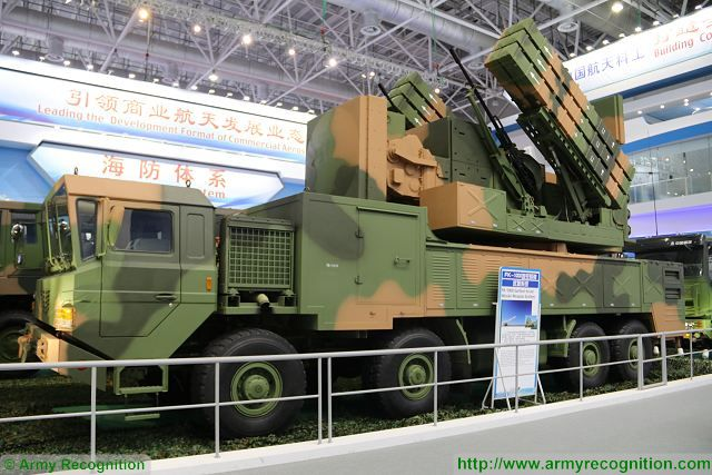 FK-1000 short medium range air defense system CASIC China Chinese defense industry Zhuhai AirShow China 640 001