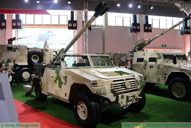 SH9 120mm 4x4 wheeled self-propelled mortar-gun Norinco China Chinese defense industry Zhuhai AirShow China 640 001