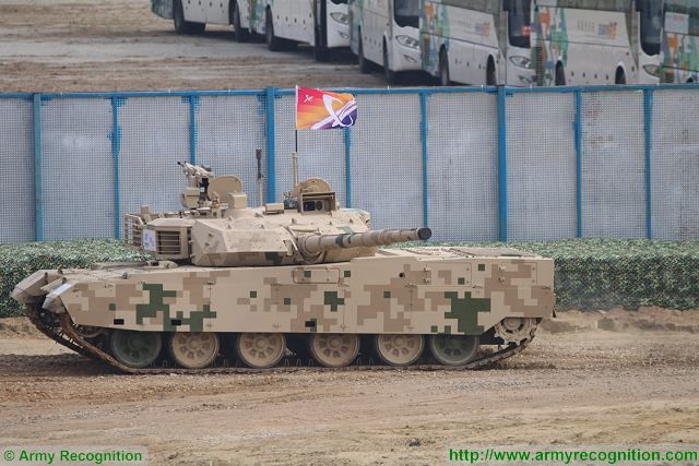 VT4 main battle tank live demonstration China Chinese defense industry Zhuhai AirShow China 640 001