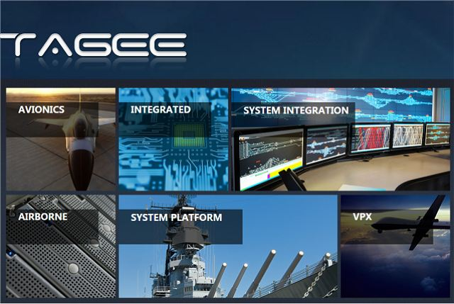 Tagee Technology a wide range of mainboard and CPU for military use at CIDEX 640 001