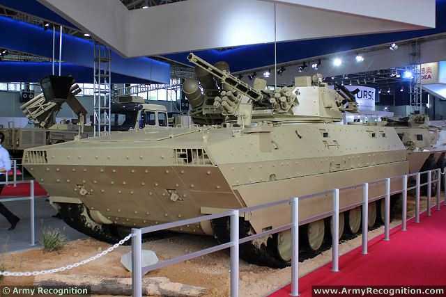 At the China International Aviation & Aerospace Exhibition 2014 (AirShow China), the Chinese Defense Company NORINCO (China North Industries Corporation) presents the latest generation of tracked armoured infantry fighting vehicle, called the VN12. This vehicle is featured with high mobility, strong fire power, modern armour protection and sophisticated information warfare capability.