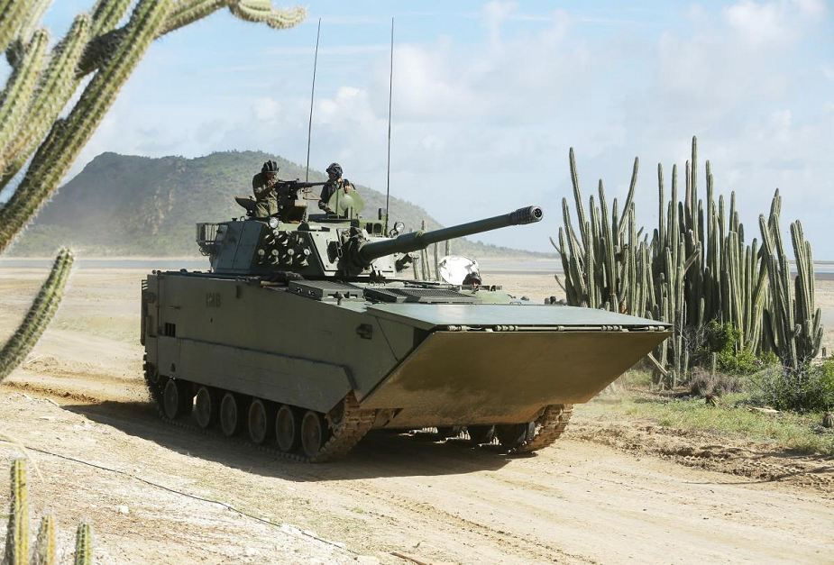 ZTD 05 VN 16 amphibious assault tracked armoured vehicle light tank 105mm gun China Chinese army 925 001