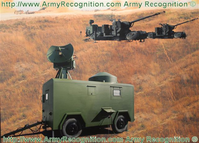 825 fire control radar system artillery data sheet specifications information description intelligence pictures photos images video China Chinese identification army defense industry military technology SEMIC Sichuan Electronics Military Industries Group Co. Ltd