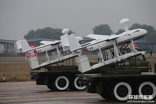 JY-203 UAV Unmanned Aerial Vehicle SAR System data sheet specifications information description intelligence pictures photos images video China Chinese identification army defense industry military technology