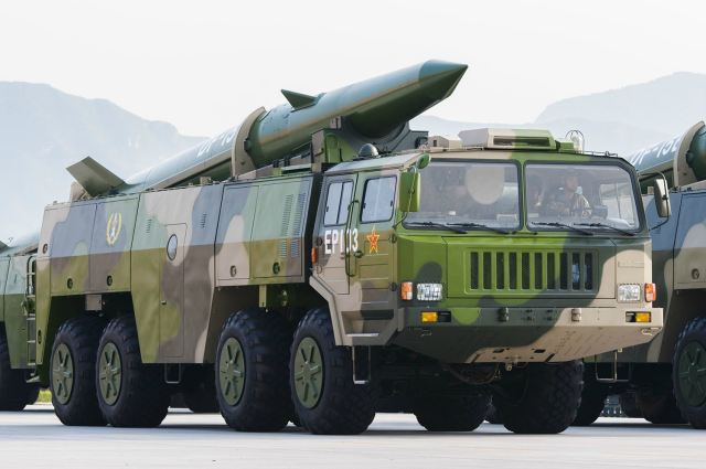 DF-15B short-range ballistic missile China Chinese army PLA defense industry military equipment 640 003