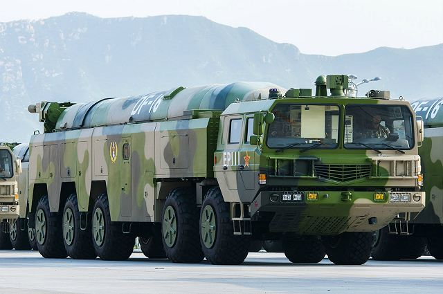 DF-16 short medium-range ballistic missile China Chinese army defense industry military technology 640 001