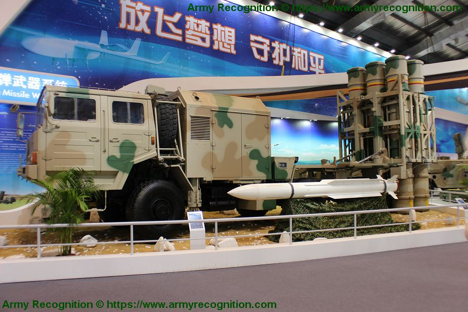 HQ 16A LY 80 ground to air defence missile system China Chinese army defence industry military technology 925 001