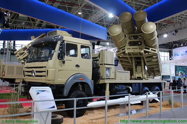 Sky Dragon 50 GAS2 Medium-Range Surface-to-Air defense missile system China Chinese defense industry military equipment 640 001