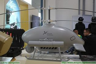 Sky Saker-H-300 reconnaissance armed strike unmanned helicopter technical data sheet specifications pictures video information description intelligence identification China Chinese NORINCO army industry military technology equipment