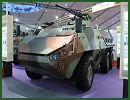 Chinese defense industry unveils a new generation of light 6x6 armoured combat vehicle under the name of 13P. This new vehicle was presented at the booth of Poly Technology at AirShow China 2014, and is designed to be used mainly as armoured personnel carrier (APC).