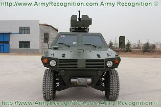 Chinese Wolf 4x4 light armoured vehicle personnel carrier ShaanXi Baoji Special Vehicles data sheet specifications pictures information description intelligence photos images video identification tracked armoured vehicle China army defense industry military technology