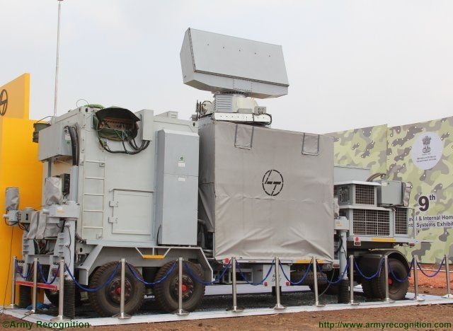 Defexpo 2016 Larsen unveils new Air Defence Fire Control Radar system 640 001