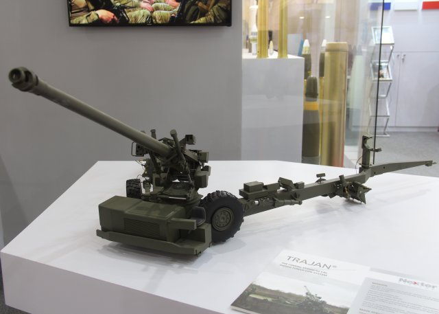 Defexpo 2016 Nexter Systems promotes  ake in Indi Caesar and Trajan artillery systems 640 001