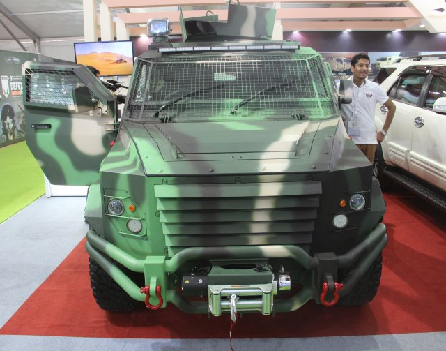 MSPV introduces first member of its Panthera armoured vehicles family 640 001