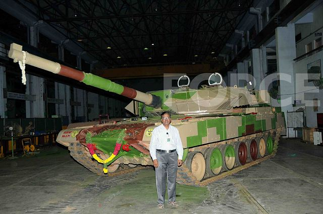 The defence magazine Force of India visited the Combat Vehicles Research & Development Establishment (CVRDE) for an exclusive insight into the programme of Indian-made Arjun Mk-2 main battle tank. Arjun Mk-2 is substantially improved and more capable than the Arjun Mk-1; it is too heavy, limiting areas where it can be deployed by the Indian Army.