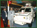 An indigenous light armoured vehicle designed keeping in mind the operational requirements of the police and paramilitary forces was launched at the ongoing homeland security exhibition, June 20, 2011. Based on the Ford Endeavour SUV, the Sherpa has been developed by Shri Lakshmi Defence Solutions Ltd (SLDS) in a joint programme with Ford India.