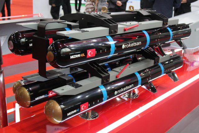 Roketsan displays its UMTAS and L-UMTAS Antitank Missile Systems at Indodefence 2016 001