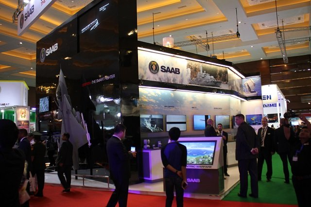 Saab at Indo Defence 2016
