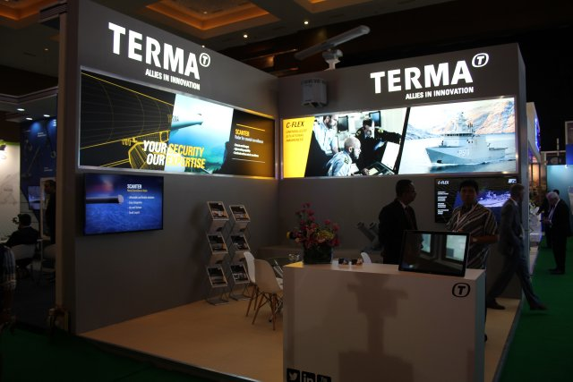 Terma at Indo Defence 2016