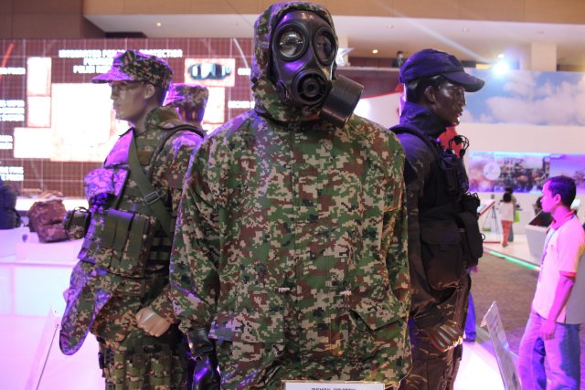 The Indonesian Sritex showcases its wide range of products at Indodefence 2016 003