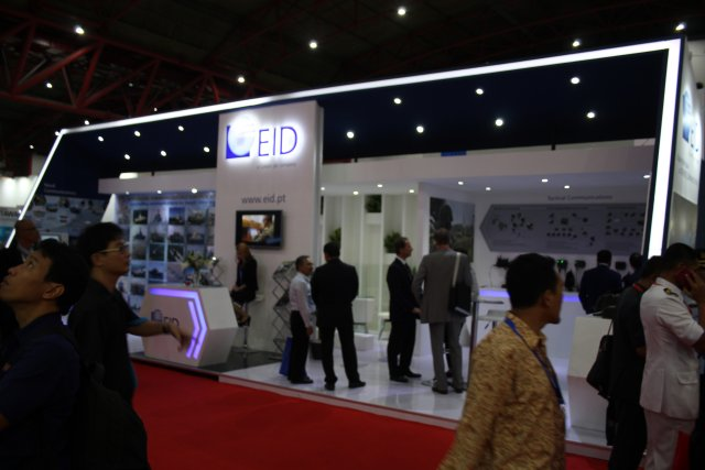 The Portuguese EID presents its naval and land communications systems at Indodefence 2016