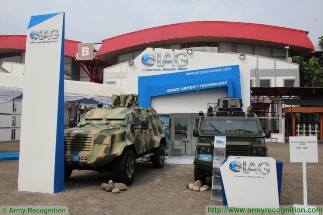 International Armored Group best solutions of APCs for Asian defense markets with Guardian and Jaws IndoDefence 2016 001
