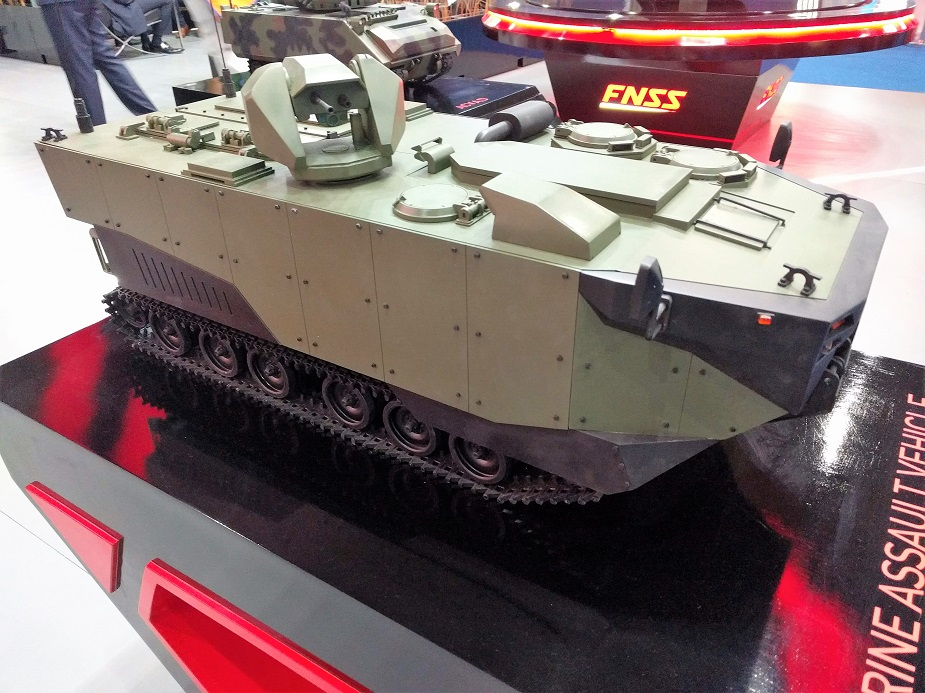 IndoDefence 2018 FNSS Showcasing Marine Assault Vehicle Concept