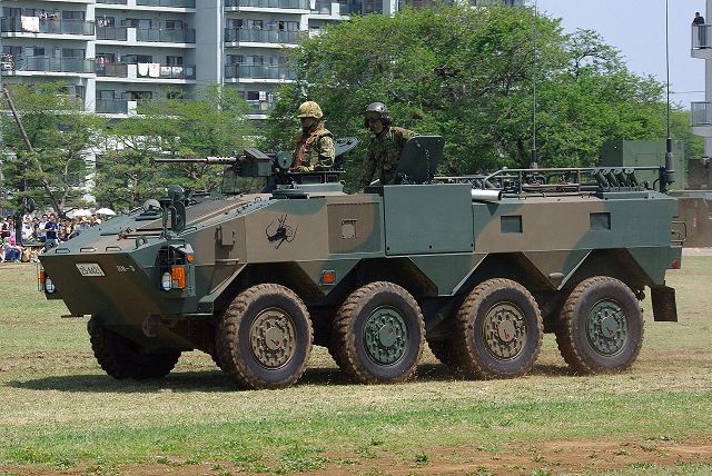 The Type 96 is an 8x8 armoured vehicle that entered service with the Japanese Armed Forces in 1996. The vehicle is manufactured by the Japanese Company Komatsu and a total of 365 vehicles are in service with the Japanese Armed Forces.